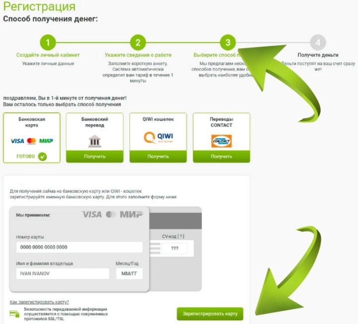 интернет займы на банковскую карту можно ли взять кредит под залог земельного участка в крыму